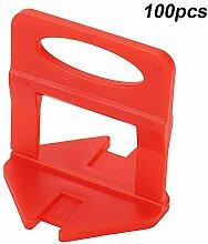 Yencoly Fliese Leveler Clip, 100 Teile/Satz 1,5mm