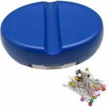 yeqin Magnet Pin Caddy Nähen Werkzeuge blau