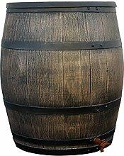 YERD Regentonne Holzfass/Regenfass, 350 Liter im