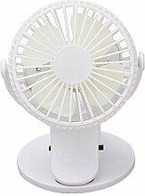 YESIAM Mini Clip Ventilator Mini USB Fan mit