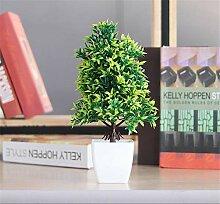 Yeslln Künstliche Bonsai Bäume Pflanzen