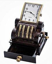 Yeti-Gold Vintage Uhr Design Registrierkasse