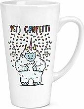 Yeti Konfetti 17oz groß Latte Becher Tasse