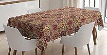 Yeuss Marokkanische Tischdecke Artistic Patchwork
