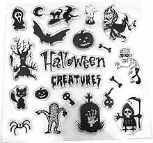 YFairy – Transparenter Stempel, Halloween,