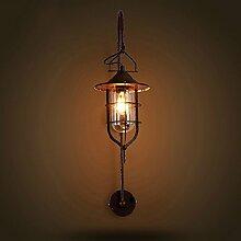 YFF@ Amerikanische kreative Persönlichkeit Retro-Lampen und Wandlampen