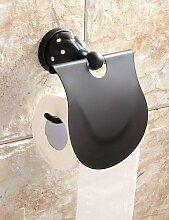 YFF@ ContemporaryOilRubbedBronzeWallMountedToilet BathroomGadgets lavatoryPaperHolders//