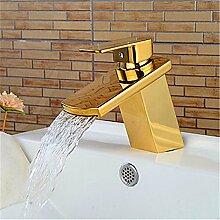 YFF@ILU Bad-Accessoires Badezimmer Waschraum Waschtisch Armatur Wasserhahn Tippen