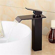 YFF@ILU Bad-Accessoires Zeitgenössischees Badezimmer Vessle Waschtisch Armatur Wasserhahn Tippen