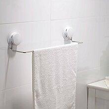 YFF@ILU Der punch Wandhalterung die Saugnapfhalterung Edelstahl Handtuchhalter Regal- und Bäder, WC Badetuch Hebel