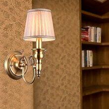 YFF@ILU Halterung Licht wohnzimmer schlafzimmer bett antik Kupfer studie Korridor