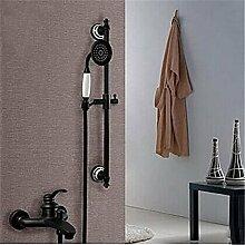 YFF@ILU Home deco Accessoires Dusche Wasserhahn mit Öl eingerieben Bronze Wall Mount Handheld