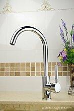 YFF@ILU Home deco Accessoires Kupfer Legierung Galvanotechnik warme und kalte Küche Wasserhahn