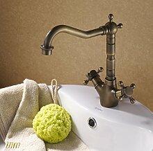 YFF@ILU Home Deco/Rereo Messing Wasserhahn Bad Badezimmer WC-Armatur Wasserhahn