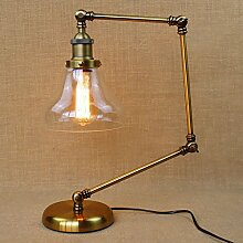 YFF@ILU Loft retro Amerikanische ländliche Idylle lobby Arm klappbare Werkbank Lampen