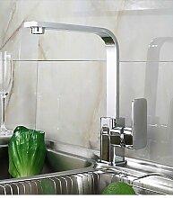 YFF@ILU Moderne Standmontage messing verchromt mit Single Küche Wasserhahn