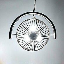 YFF@ILU Nordic Vintage iron Ventilator Kronleuchter Messing antik - Stil, Kronleuchter