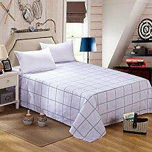 YFFS Doppelbett Bettwäsche Baumwolle Kann Nicht Leisten Die Ball Bett Bettwäsche Aktive Druckbögen Einfache Und Stilvolle Bettwäsche,R-160*230CM