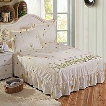 YFFS Einzelstücke Von Aloe Baumwolle Nicht Rutschfeste Bett Rock Bettdecken Bett Matratzen Matratzen,P-180*200cm
