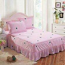 YFFS Einzelstücke Von Aloe Baumwolle Nicht Rutschfeste Bett Rock Bettdecken Bett Matratzen Matratzen,K-150*200cm