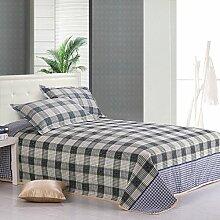 YFFS Leinen Matte Matratze Leinen Vier Jahreszeiten Bettwäsche Bettwäsche Leinen Vier Jahreszeiten Bettwäsche,C-230*250cm