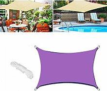 YFFS Sun Shade Sail Garden Weiß Wasserdicht UV UV