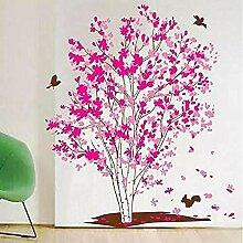 YFKSLAY Abnehmbarer Baum Aufkleber Schlafzimmer