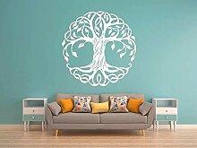 YFKSLAY Aufkleber des Baumes des Lebens Design