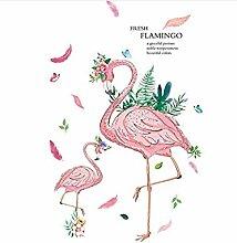 YFKSLAY Aufkleber Flamingo frisch ideale Farbe
