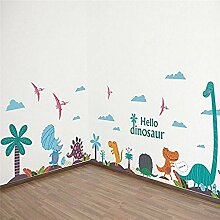 YFKSLAY Dinosaurier Mix Aufkleber für Wand oder