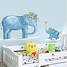 YFKSLAY Elefanten Mutter und Baby Aufkleber für