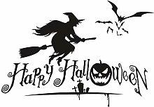 YFKSLAY Halloween dekorative Aufkleber Home