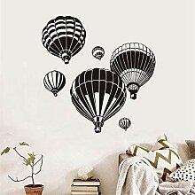 YFKSLAY Heißluftballon Geschnitzte Schwarze