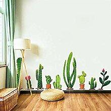 YFKSLAY Kaktus Aufkleber auf Kopfteil oder Cenfefa