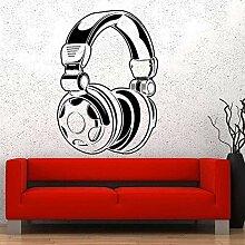 YFKSLAY Kopfhörer Musik Aufkleber Kopfhörer