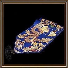 YFQH-Klassische Moderne Chinese Dragon Brocade europäischen Stil Tischläufer, 3