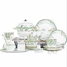 YGFS Lakeview Green Bamboo Serie Bone China