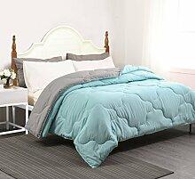 YGJT Bettdecke 220 x 240 cm Leichtsteppdecke(Sehr