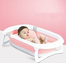 YGR yugang yupen Baby-Badewanne Portable faltbare Badewanne Anti-Rutsch-Klappdusche Bad Neugeborenen Babybadewanne (Farbe : D)