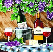 YH-Arts, 30 x 30 x 1 cm, von den Zwei Vineyard