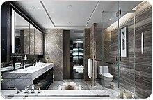 YH Badezimmer Spiegel WC Schmink WC Wand
