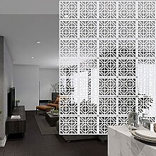 YHANEC Raumteiler Hängend, 12 Stück Trennwand