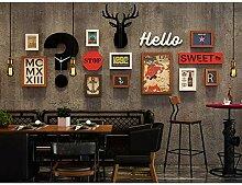 YHEGV Bilderrahmen Vintage Multi Bild Wand Set