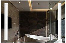 YHH-Mirror Wandmontierter Lichtspiegel Badspiegel