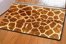 YHJ Teppich Druck-Decken Matten Gummi Anti-Rutsch-Türmatten Dünnschnitt ( Farbe : C )