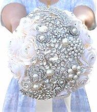 Yhjklm Handgemachter Hochzeit Brautstrauß