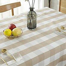 YHKang Tischdecke aus Kunststoff, mit Muster,