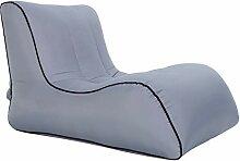 YHNUJMIK Air Sofa Im Freien Tragbar Einzelbett
