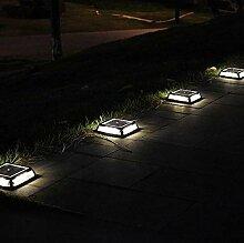 YHONG LED Solarleuchten,Bodenleuchte Garten 12 LED