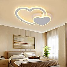 YHSGD Hollow Ceiling Lampe LED Fashion Love